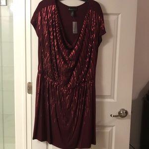 Deep Cranberry Colored Dress